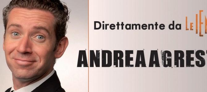 """La """"Iena"""" Andrea Agresti sabato 19 settembre si esibisce con la sua band alla """"Festa dell'aria"""" all'aeroporto di Capannori"""
