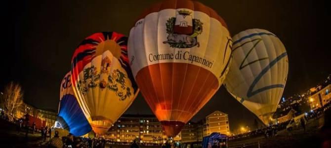 """Sarà il pilota capannorese Marco Giomi a pilotare il Pallone Capannori al prestigioso 29° Raduno Aerostatico Internazionale """"Città di Mondovì""""."""