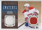 Daniel Briere 14 15 UD Artifacts Treasured Swatches TS DB