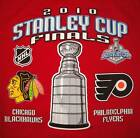 Blackhawks Flyers S RED T Shirt 2010 Stanley Cup