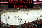 FRONT ROW ACELA CLUB LEVEL TICKETS PHILADELPHIA FLYERS WASHINGTON CAPITALS 1 15
