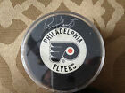 Bernie Parent Auto signed Trench Philadelphia Flyers Puck
