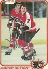 BILL BARBER HALL OF FAME PHILADELPHIA FLYERS AUTOGRAPHED OPC TRADING CARD