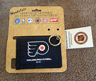 Montclair Philadelphia Flyers Officially Licensed ID Card Wallet wKey Ring MT NR