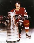 OREST KINDRACHUK PHILADELPHIA FLYERS CLASSIC 8X10 PHOTO WITH LORD STANLEY CUP