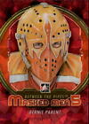 2012 13 Between The Pipes Masked Men V Rainbow MM34 Bernie Parent NM MT