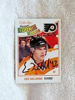 Philadelphia Flyers Eric Wellwood Signed 10 11 O Pee Chee Marquee Rookie Card
