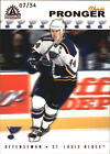 2001 02 BLUES Pacific Adrenaline Red 161 Chris Pronger 54
