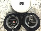 OFFICIAL NHL GAME PUCK 2002 2004 PHILADELPHIA FLYERS