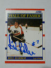 Bill Barber Philadelphia Flyers HOF Autographed card with COA
