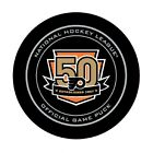 GAME PUCK 2016 2017 PHILADELPHIA FLYERS 50th ANNIVERSARY AL