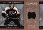 2007 08 ARTIFACTS SIMON GAGNE TREASURED SWATCHES TS SG 299
