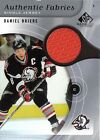 2005 06 SP GAME USED DANIEL BRIERE AUTHENTIC FABRICS AF BE