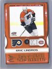 2000 01 MCDONALDS ERIC LINDROS PACIFIC DIAL A STATS 4 FLYERS