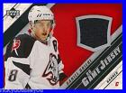 2005 06 Upper Deck Series 1 Daniel Briere Game Jersey