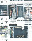 9 Philadelphia Flyers OLD Playoff tickets 1980s 2010s