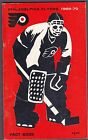 VINTAGE 1969 70 PHILADELPHIA FLYERS FACT BOOK GUIDE FACT BOOK BERNIE PARENT NICE