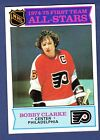 1975 76 Topps HKY 286 Bobby Clarke AS EX MT
