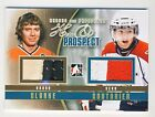 Bobby Clarke Sean Couturier 2011 12 ITG HP Hero  Prospect Jersey Gold Card 10