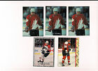 Eric Lindros very Rare SR Olympic Printers Proof Hockey Card LOT 1993 5 Cards