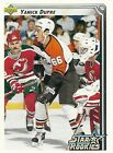 Upper Deck Yanick Dupre 1992 1993 NHL Trading Card 421 Philadelphia Flyers NM MT
