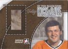 2013 14 ITG In the Game Used Bernie Parent Pad Silver Kick Save Flyers 20