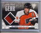 12 13 PANINI TITANIUM GAME WORN GEAR ERIC LINDROS PATCH 2 CLRS SP 20 50 FLYERS