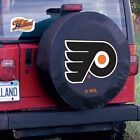 Philadelphia Flyers NHL Black Spare Tire Cover By HBS