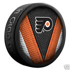 PHILADELPHIA FLYERS Stitch Series Team Logo Model SOUVENIR PUCK NEW In Glas Co