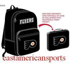 Philadelphia Flyers NHL Fold Away Book Bag Back Pack Gym Case School Travel