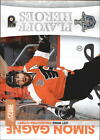 2010 11 Score Playoff Heroes 11 Simon Gagne NM MT