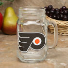 Philadelphia Flyers 16oz Mason Jar NHL