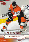 04 05 Upper Deck Simon Gagne 50 UD Exclusives Canadian Flyers