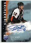 2007 08 UD BAP Signatures Simon Gagne Signed Certified Auto Flyers TD
