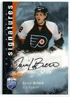 2007 08 UD BAP Daniel Briere Signed Certified Auto Signature Series Flyers TD