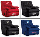 Choose Your NHL Team Soft Microfiber Home Team Recliner Arm Chair by Imperial