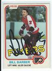 Bill Barber Signed 1981 82 O Pee Chee Card 238