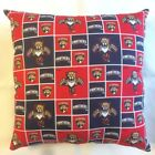 NEW 15 x 15 NHL HOCKEY TEAMS COMPLETE THROW PILLOWS GREAT GIFTS FREE SHIP