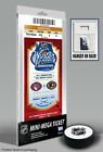 2012 NHL Winter Classic Mini Mega Ticket Rangers vs Flyers