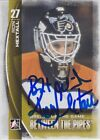 Ron Hextall Signed 2013 2014 Between The Pipes Card 143 Philadelphia Flyers