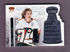 BOBBY CLARKE 1 25 STANLEY CUP SILVER CHALICE 3 COLOR GU JERSEY FLYERS 13 14
