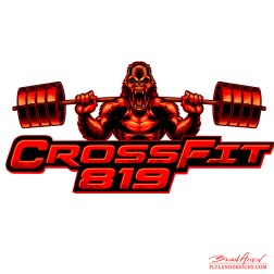 CrossFit Gorilla Logo Illustration