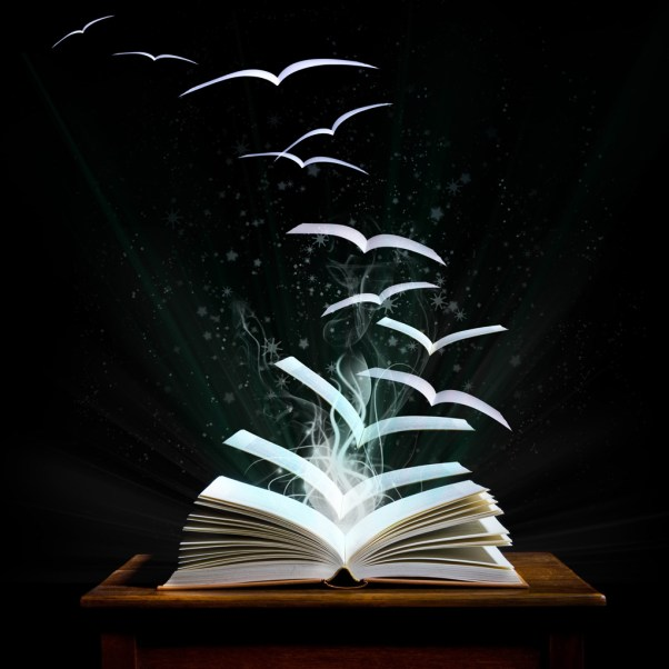 flying-leaves-of-a-book