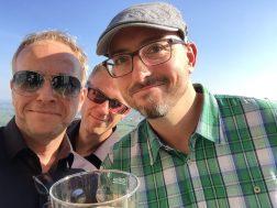 Dirk, Ralph und Jan ... Hambach