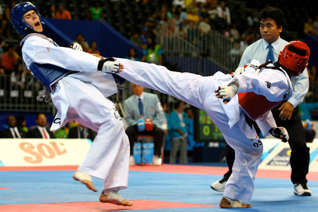 Pan-Am Games 2007 - Taekwondo - Men's 58kg
