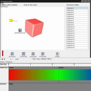 Delphi XE6 Firemonkey Animation Lab Timeline Component