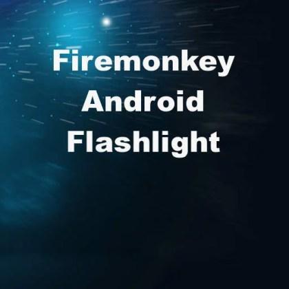 Delphi XE6 Firemonkey Android Flashlight