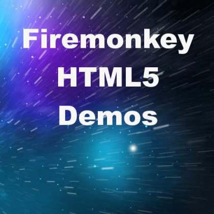 Delphi XE6 Firemonkey HTML5 Demos
