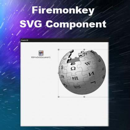 Delphi XE7 Firemonkey SVG Component Android IOS