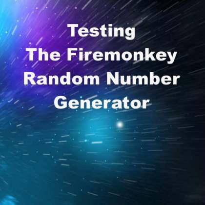 Delphi Firemonkey Random Number Generator Windows MacOSX